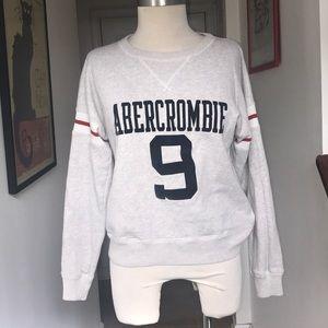 Abercrombie & Fitch Gray No 9 Sweatshirt Sz XS 😘